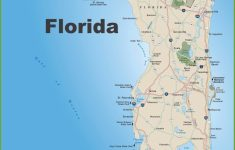 Large Florida Maps For Free Download And Print | High-Resolution And – Map Of Florida Gulf Side