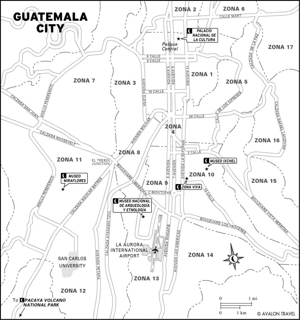 Large Guatemala City Maps For Free Download And Print   High - Printable Map Of Guatemala