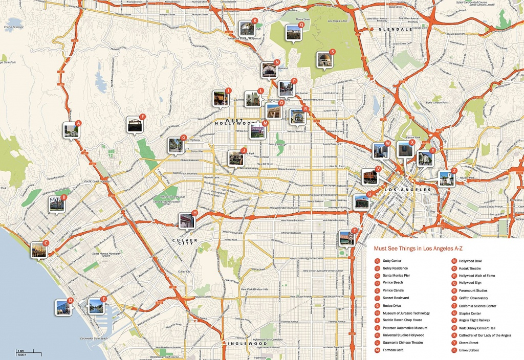 Large Los Angeles Maps For Free Download And Print | High-Resolution - Printable Map Of Los Angeles County