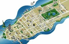 Printable Street Map Of Manhattan