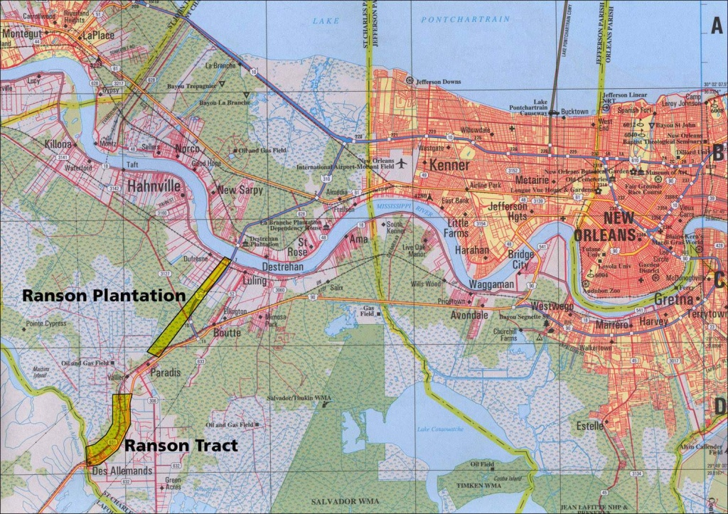 Large New Orleans Maps For Free Download And Print   High-Resolution - Printable Walking Map Of New Orleans