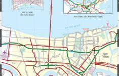 Large New Orleans Maps For Free Download And Print | High-Resolution – Printable Walking Map Of New Orleans