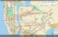 Printable New York Subway Map