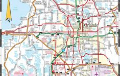 Detailed Map Of Orlando Florida