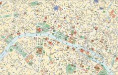 Paris City Map Printable