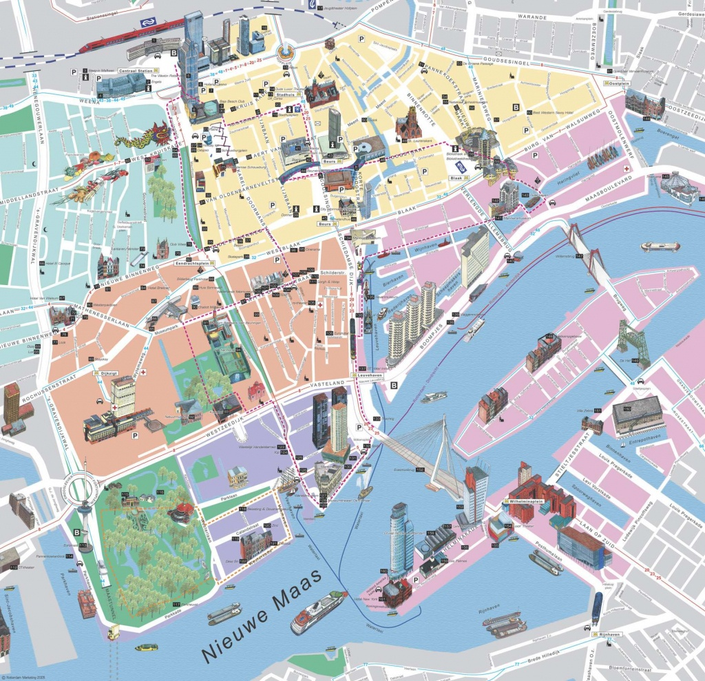 Large Rotterdam Maps For Free Download And Print | High-Resolution - Free Printable Aerial Maps