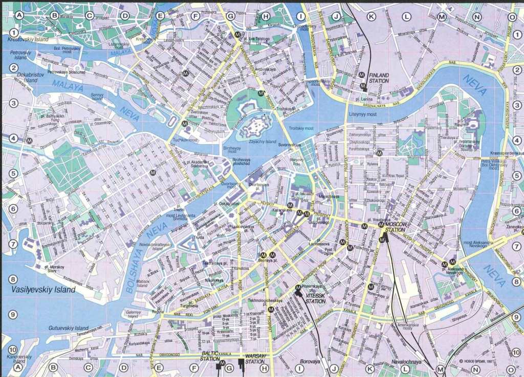 Large Saint Petersburg Maps For Free Download And Print | High - Printable Tourist Map Of St Petersburg Russia