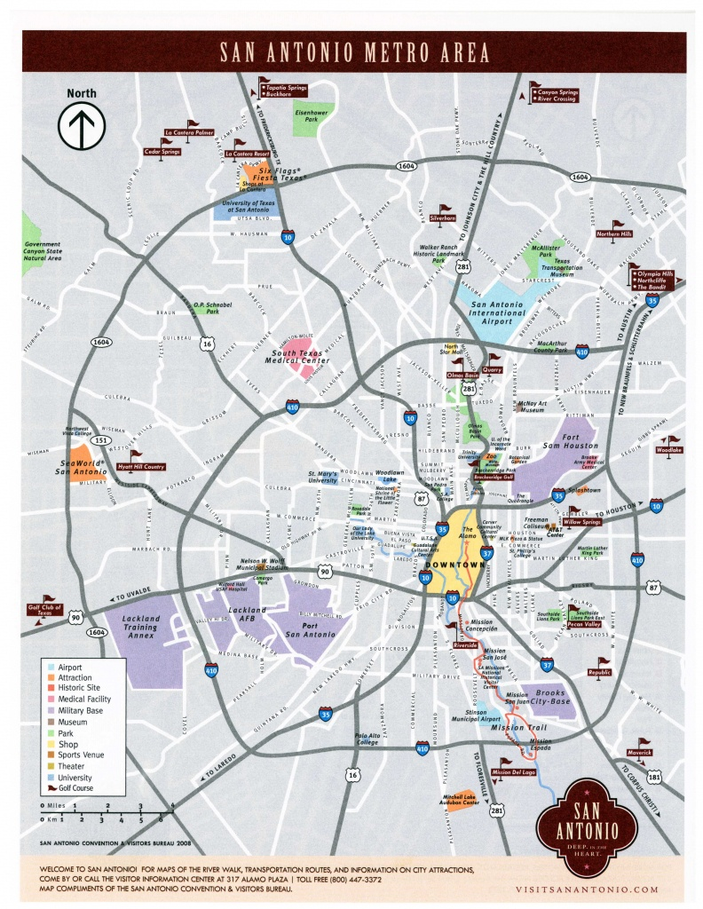Large San Antonio Maps For Free Download And Print   High-Resolution - Map Of San Antonio Texas And Surrounding Area