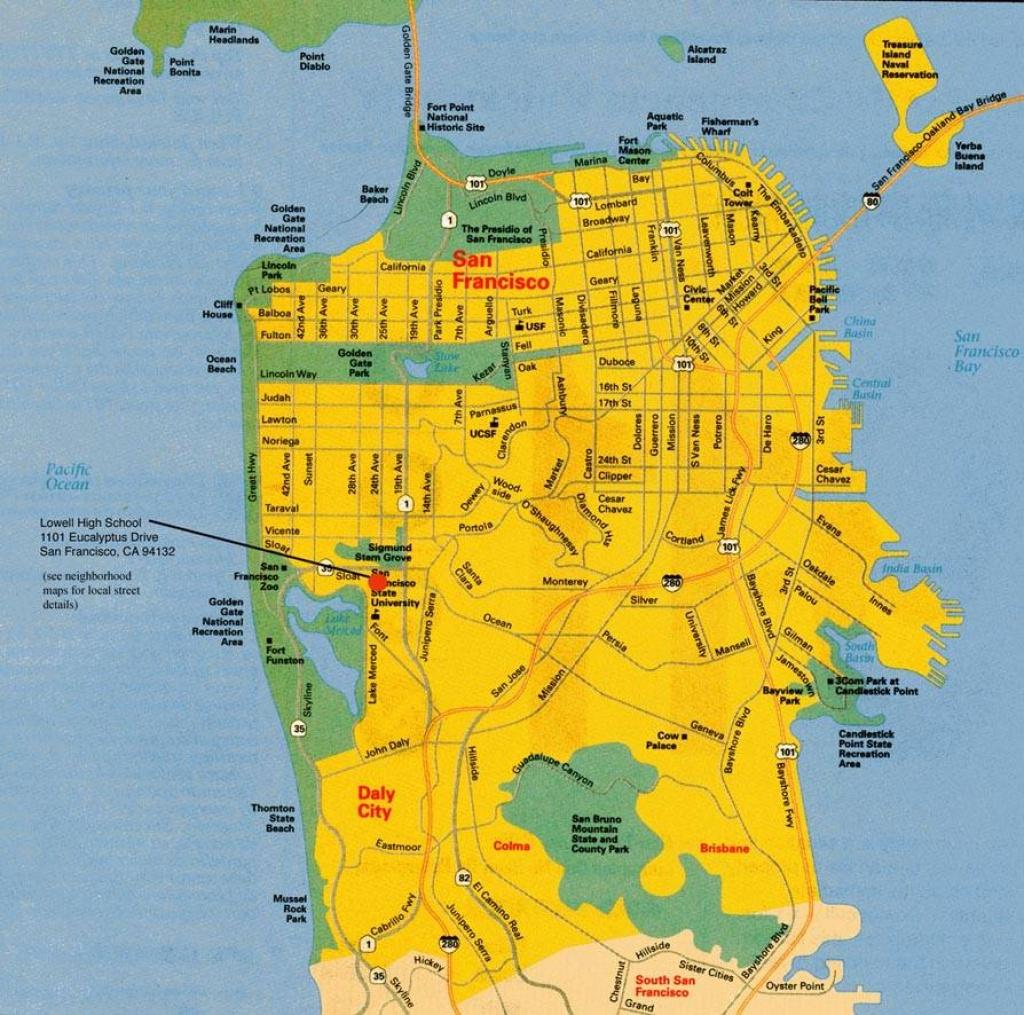 Large San Francisco Maps For Free Download And Print   High - A Map Of San Francisco California