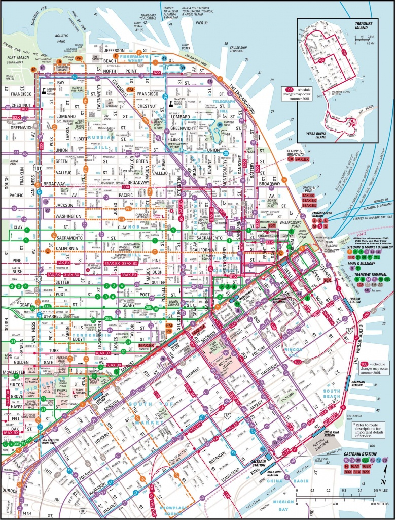 Large San Francisco Maps For Free Download And Print | High - Printable Map Of San Francisco Downtown
