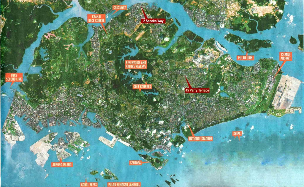 Large Singapore City Maps For Free Download And Print | High - Free Printable Satellite Maps