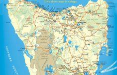 Printable Map Of Tasmania