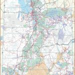 Large Utah Maps For Free Download And Print   High Resolution And   Printable Map Of Utah