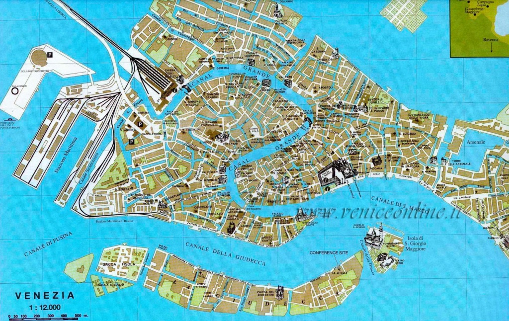 Large Venice Maps For Free Download And Print | High-Resolution And - Venice Printable Tourist Map