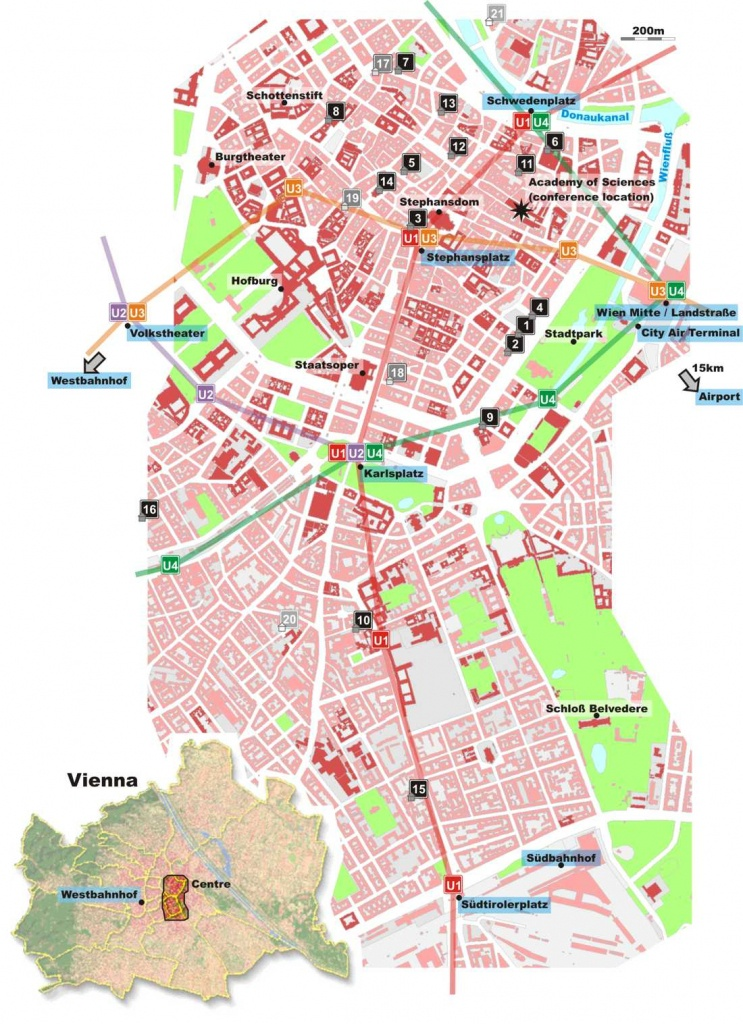 Large Vienna Maps For Free Download And Print | High-Resolution And - Printable Map Of Vienna