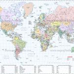 Large World Map Image   Large Printable World Map