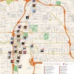Las Vegas Printable Tourist Map | Sygic Travel   Las Vegas Printable Map