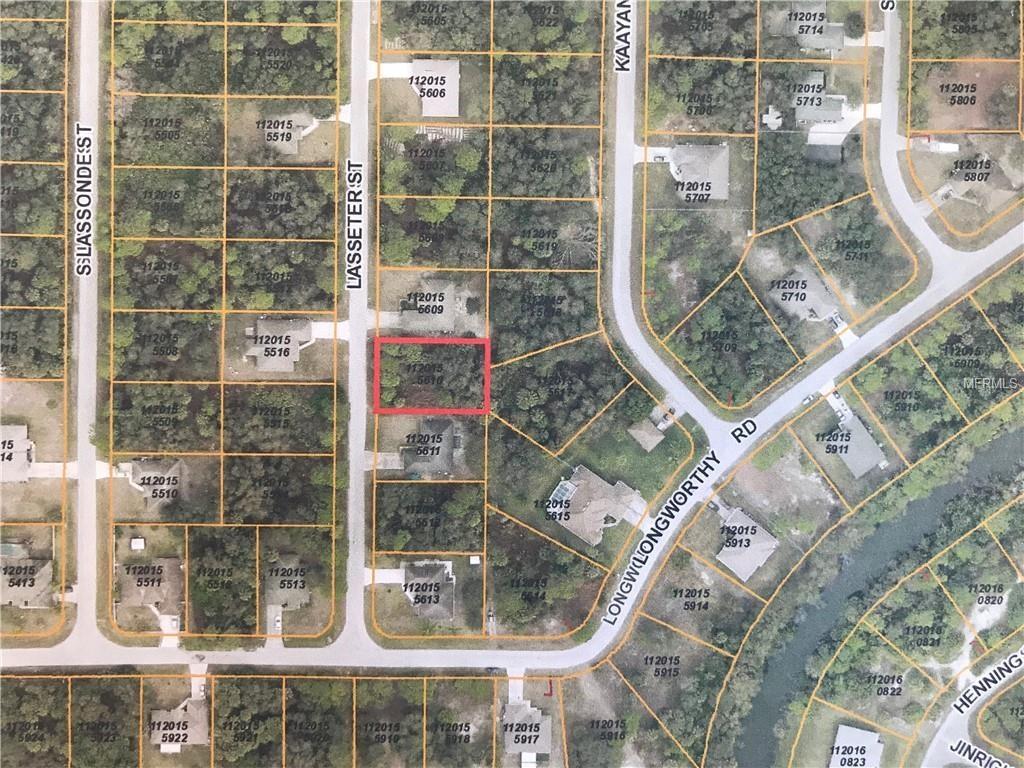 Lasseter Street, North Port, 34288 | Fannie Hillman + Associates, Inc. - North Port Florida Street Map