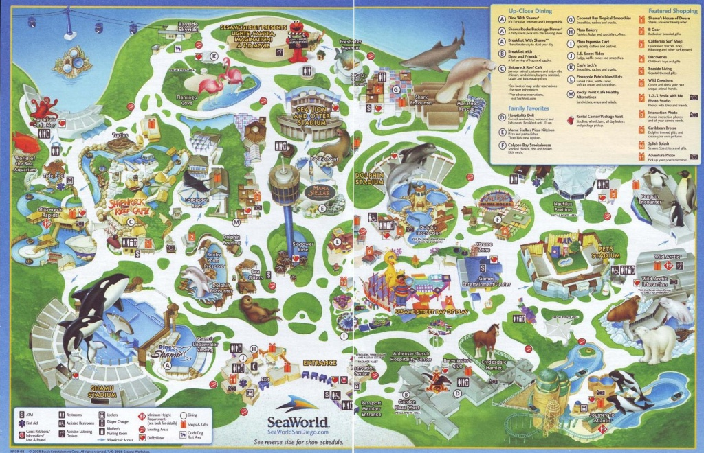 Latest Cb 20120603215102 Sea World Map 9 - World Wide Maps - Seaworld California Map