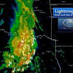 Latest Lightning Strikes On Google Maps – Iweathernet   Lightning Map California