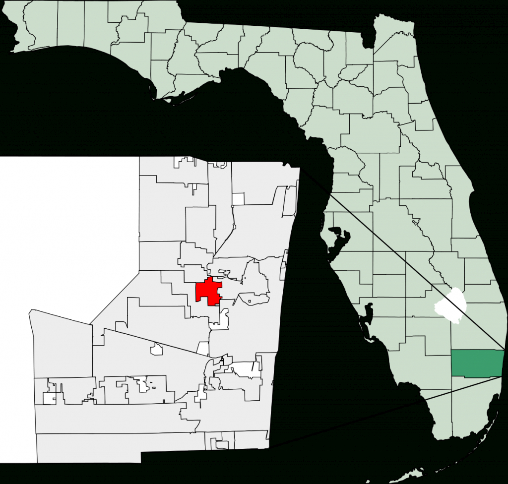 Lauderdale Lakes, Florida - Wikipedia - Lake Worth Florida Map