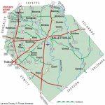 Lavaca County   The Handbook Of Texas Online  Texas State Historical   Yoakum County Texas Map