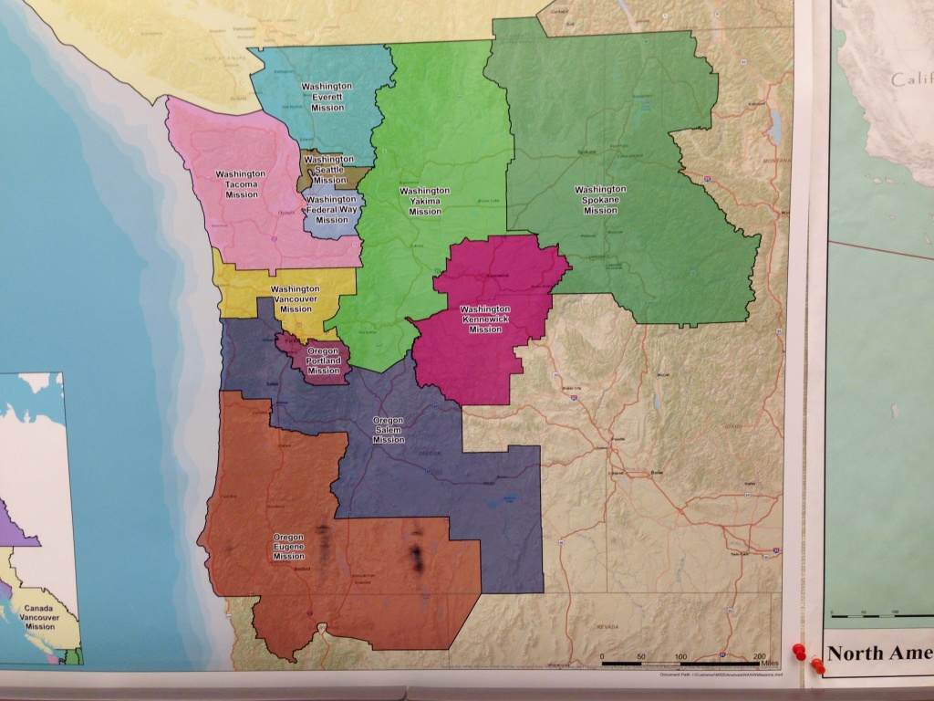 Lds Missions In Washington And Our Mission Home   Ann's Words - California Lds Missions Map