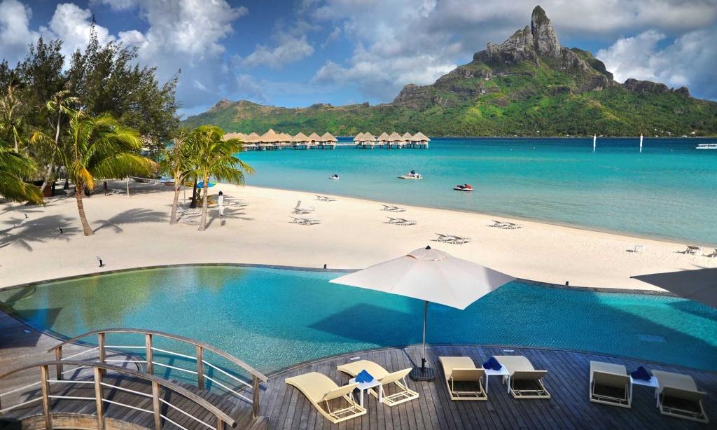 Le Meridien Bora Bora Resort, Starwood Hotel | Tahiti - Starwood Hotels California Map