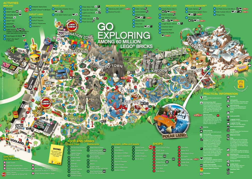 Legoland Park Map | Maps | Legoland, Legoland Park, Map - Legoland Printable Map