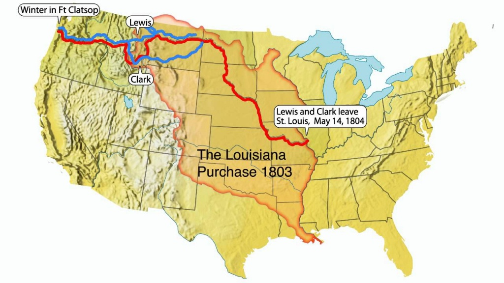 Lewis And Clark Expedition Of North America - Lessons - Tes Teach - Lewis And Clark Expedition Map Printable
