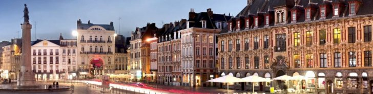 Printable Map Of Lille City Centre