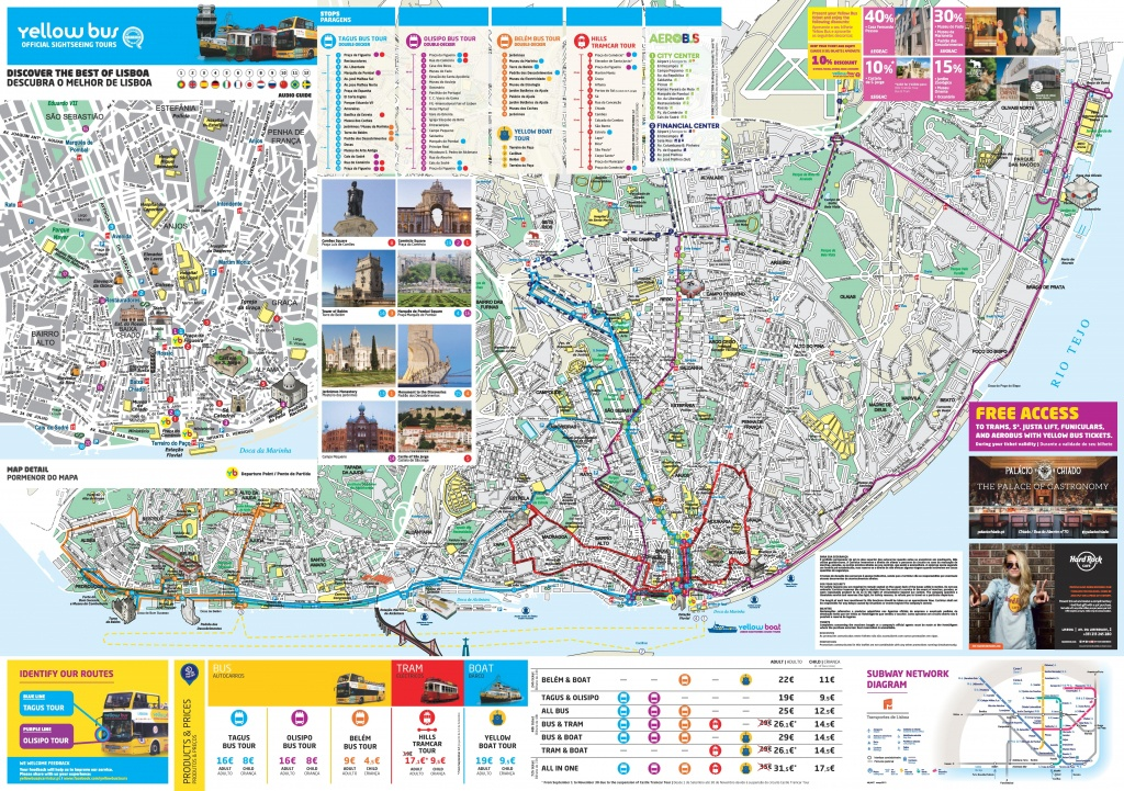 Lisbon Attractions Map Pdf - Free Printable Tourist Map Lisbon - Lisbon Tourist Map Printable