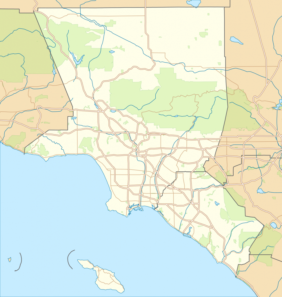 List Of Airports In The Los Angeles Area - Wikipedia - Southern California Airports Map