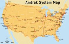 Amtrak Station Map California