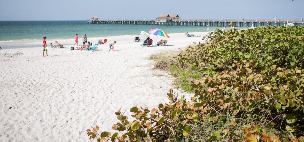 List Of Best Naples & Marco Florida Beaches | Must Do Visitor Guides - Naples Florida Beaches Map