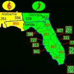 List Of Florida Area Codes – Wikipedia – South Florida County Map
