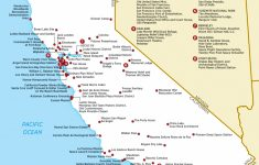 Map Of California National Parks And Monuments