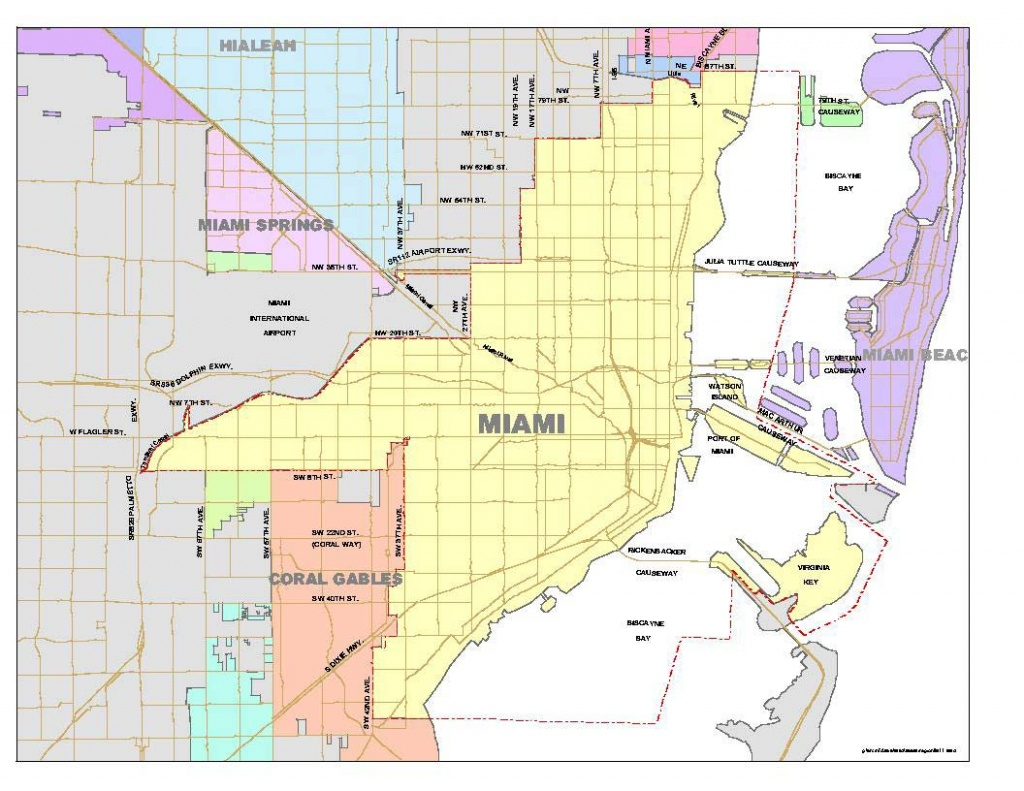 List Of Neighborhoods In Miami - Wikipedia - Map Of Miami Florida And Surrounding Areas