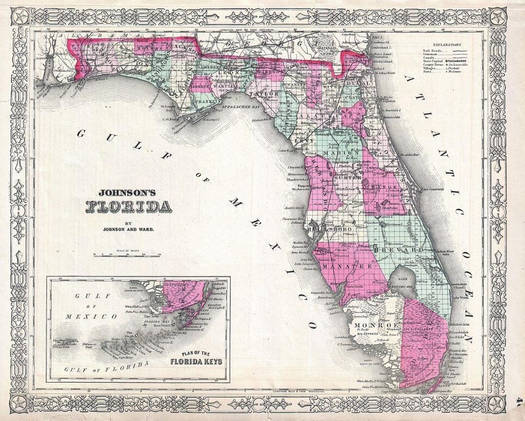 List Of Shipwrecks Of Florida - Wikipedia - Hutchinson Florida Map