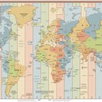 List Of Utc Time Offsets   Wikipedia   World Time Zone Map Printable Free