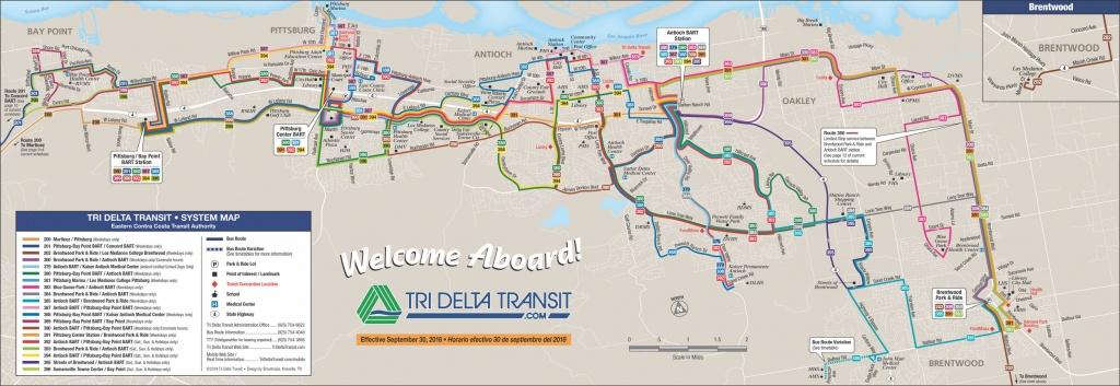Local Bus - Pittsburg California Map