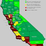 Local Variation In Concealed Carry Of Weapons In California – Gun   California Ccw Map