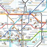 London Attraction Map With Tube – Uk Map   London Sightseeing Map Printable