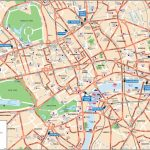 London Attractions Map Pdf   Free Printable Tourist Map London   Printable Map Of London