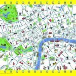 London Detailed Landmark Map | London Maps   Top Tourist Attractions   Printable Map Of London