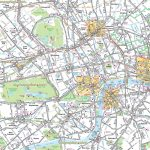 London Maps   Top Tourist Attractions   Free, Printable City Street   Printable Map Of London