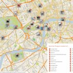 London Printable Tourist Map | Sygic Travel   London Sightseeing Map Printable