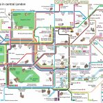 London Top Tourist Attractions Map Key Bus Routestourist   London Sightseeing Map Printable