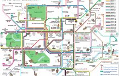 London Top Tourist Attractions Map Key Bus Routestourist – London Sightseeing Map Printable