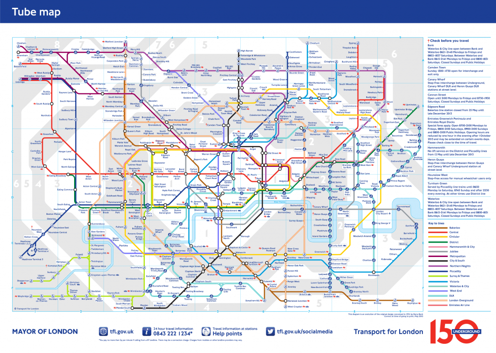 London Underground Map 2025 - Better Extensions, Connections And - Printable London Tube Map Pdf